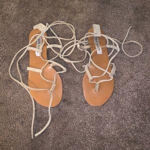 Roman style tie sandals 7